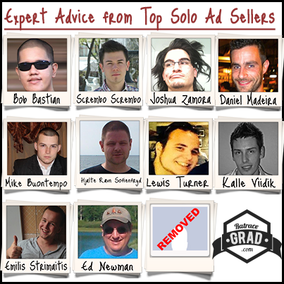 Expert advice from top solo ad sellers