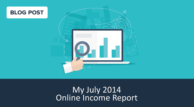 July 2014 online income report