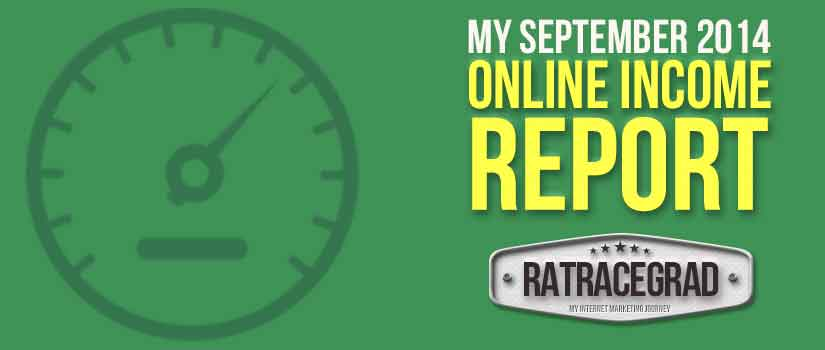 September 2014 Online Income Report